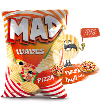 MAD WAVES PIZZA 65G