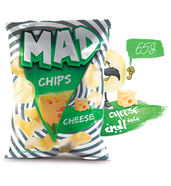 MAD CHIPS CHEESE 65G