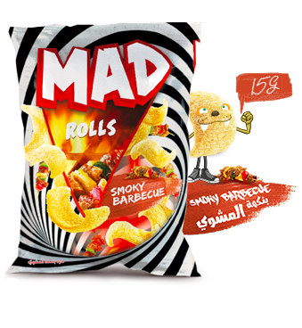 MAD ROLLS SMOKY BARBECUE 15G