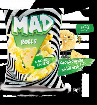 MAD ROLLS NACHO CHEESE 15G