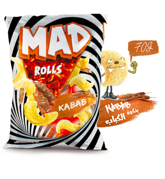 MAD ROLLS KEBAB 70g