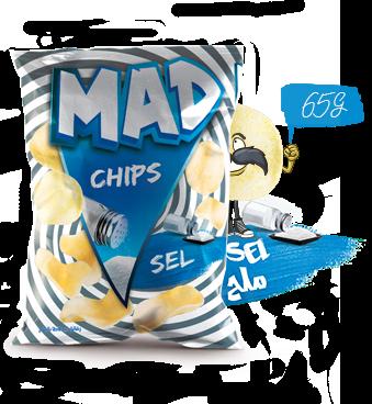 MAD CHIPS SALT 65G