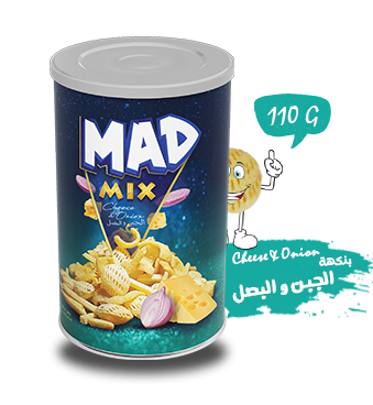 MAD MIX Cheese & Onion