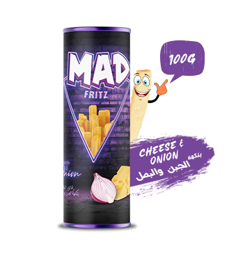 MAD FRITZ CHEESE & ONION